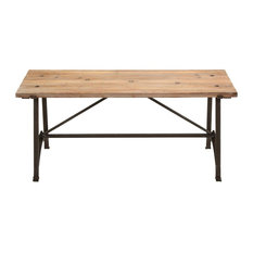 Table Work Bench Sturdy Metal Base Functional