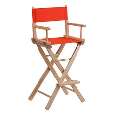 Flash Furniture   Bar Height Directors Chair, Red   Bar Stools And Counter  Stools