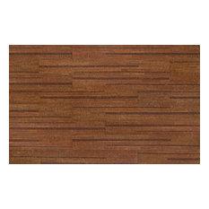 "5.5""x48"" Corkcomfort Series 100 Cork Plank Lane Collection Chestnut, Set of 8"