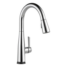 Delta Essa Single Handle Pull-Down Kitchen Faucet With Touch2O Technology, Polis