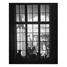 """Lower Manhattan Skyline Looking North, 1932, 16""""x20"""""""
