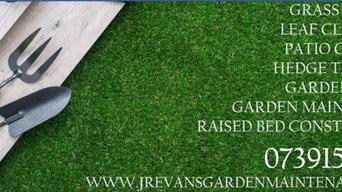 J.R. Evans Garden Maintenance