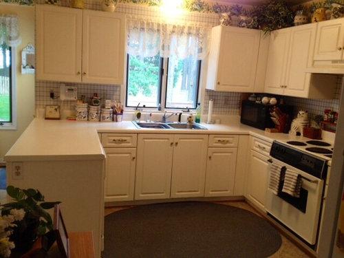 Updating kitchen at minimal cost