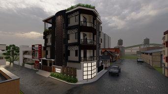 Exterior design of Rental purpose residential building