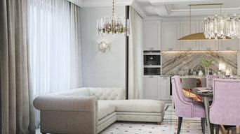 Мебель в классическом стиле ЭЖК Астра  г.Пермь