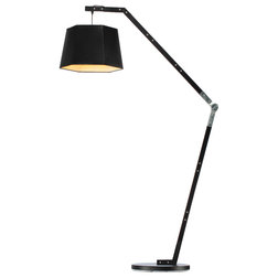 Industrial Floor Lamps by Houzz