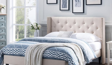 Upholstered Beds and Headboards