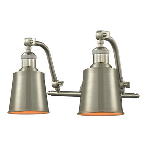 "Innovations Lighting 515-2W Addison Addison 2 Light 18"" Wide Bathroom Vanity Li"