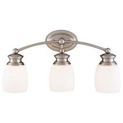 Inspirational Traditional Bathroom Vanity Lighting by Fratantoni Lifestyles