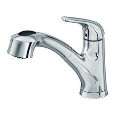 Premium Satin Nickel Pull-Out Kitchen Sink Faucet