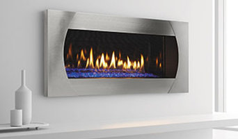 Linear Wall Direct Gas Fireplaces Modern Flat Sleek
