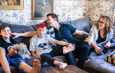 Visita privada: Una casa de estilo 'boho' cerca de Los Ángeles