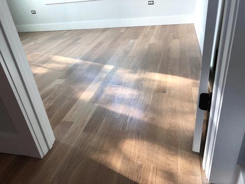 Finishing White Oak Floors