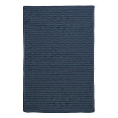 Colonial Mills, Inc - Colonial Mills Simply Home Solid Lake Blue Square 12' Area Rug - Outdoor Rugs