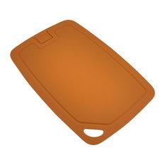 Wellos Eco Friendly Antibacterial Chopping Board, 30x20 cm, Orange