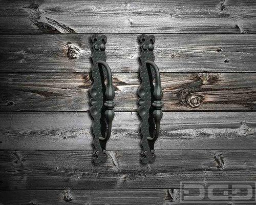 garage door handleDecorative Garage Door  Gate Hardware  Dummy Iron Hardware in