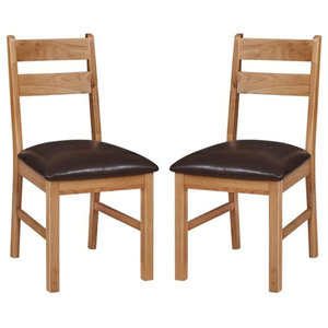 Otago Low Dining Chairs, Set of 2