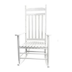 RTA Adult Rocking Chair, White