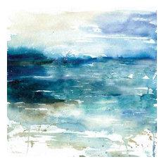 Ocean Break I by Carol Robinson Canvas Print