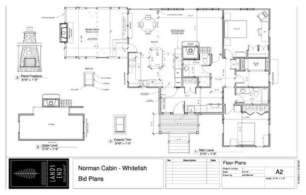 Traditional Floor Plan HT: UPPER WHITEFISH MINE