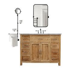 Off Center Bathroom Vanities Houzz