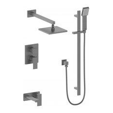 ZLINE Bliss Shower System, Black Stainless Steel