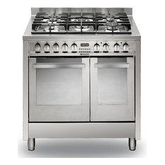 Hotpoint EG902GXS 90cm Freestanding Dual Fuel Cooker in Stainless Steel