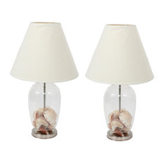 dei fillable craft lamp set of 2 lamp sets