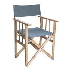 Outdoor Director's Chair, Grey