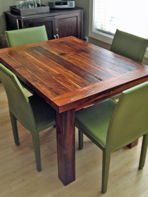 Teak Dining Table 36 X 48