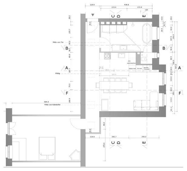 План этажа by Pizzeghello Architekten
