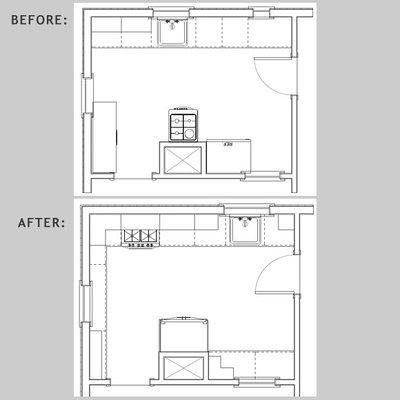 Best Craftsman Floor Plan by Tracey Stephens Interior Design Inc