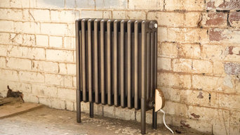 Radiators in industrial spaces