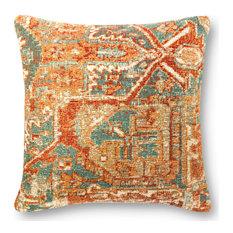"Loloi P0881 Indoor/Outdoor Pillow, 22""x22"", Polyester/Polyfill"
