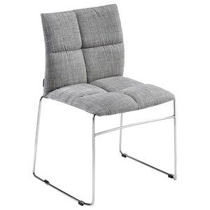 Pluff Modern Chair, Grey