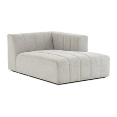 Langham Channel Tufted Raf Sectional Chaise