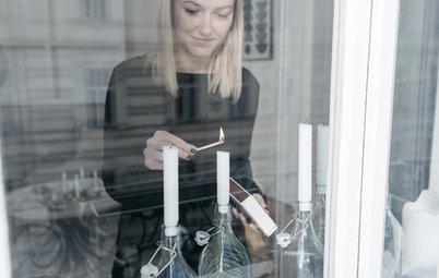 My Houzz a Vienna: Come Svenja ha Trasformato la Casa a Natale