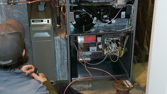 New High Efficiency Furnace Installation