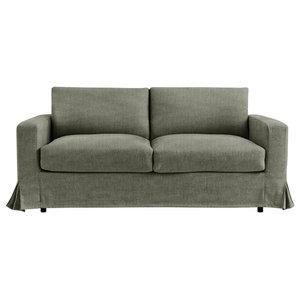 Felix Sofa Bed, Sage, 2 Seater, 140x195 cm
