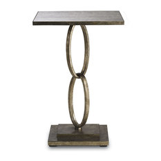 "Currey and Company 4095 Bangle 18"" Square Table"