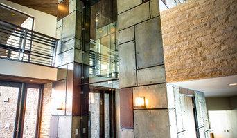 Glass / Steampunk Elevator