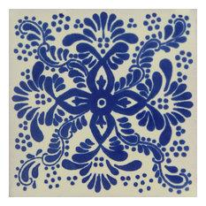 Individual Piece Mexican Talavera Handmade Tile, Sample