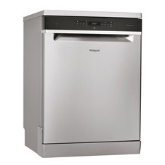Whirlpool Full Size Freestanding 14-Place Setting Dishwasher, Stainless Steel