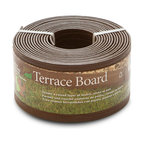 Terrace Board Edging, Brown
