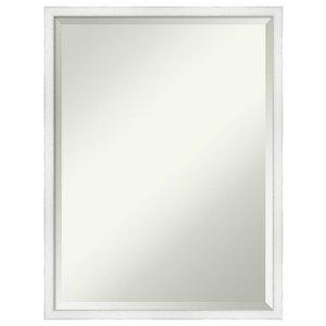 Designart Obsidian Impressions 10 Modern Frameless Wall Mirror Contemporary Bathroom Mirrors By Design Art Usa Houzz