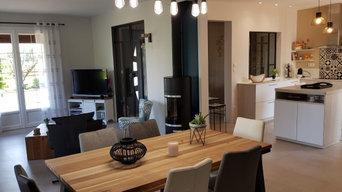 Réaménagement d'une pièce à vivre et de la cuisine