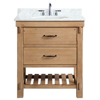 "Marina 30"" Bathroom Vanity, Driftwood Finish"