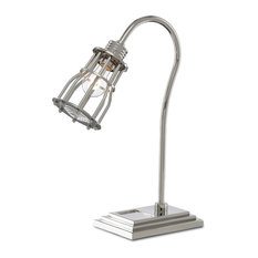 Currey and Company Davy Desk Lamp  The Barry Goralnick Collection