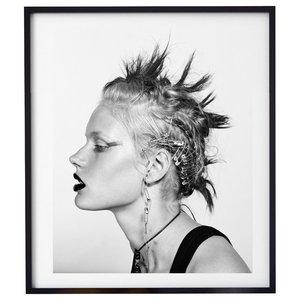 """Punk Girl"" Fashion Photography Print, Framed, 58x71 cm"