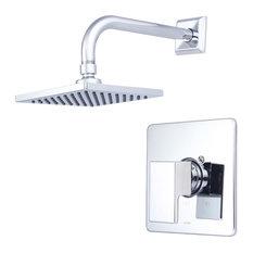 Mod Single Handle Shower Trim Set, Polished Chrome